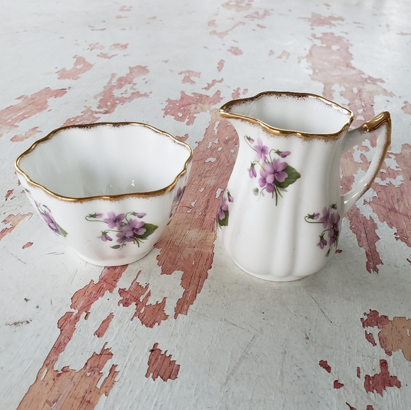 Vintage Other - Vintage cream and sugar dishes